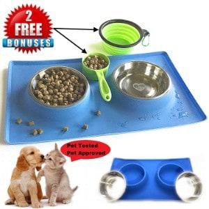 MCBInfinity Small Dog Bowls Set