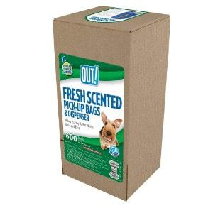 OUT Dog Waste Pickup Bags