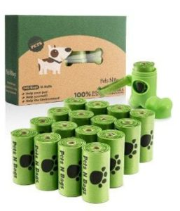 Environment Friendly Pets N Bags Dog Waste Bags