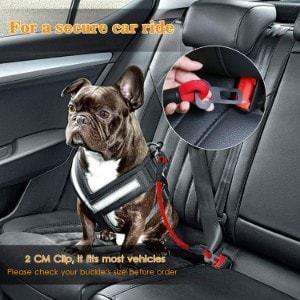 AMZNOVA Dog Seat Belt