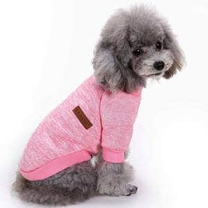 CHBORLESS Pet Dog Classic Knitwear Sweater Warm