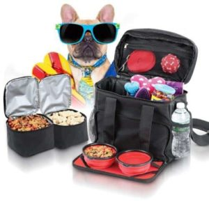 Dog Travel Bag Airline Approved Purse for Accessories