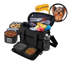 Dog Travel Bag - Week Away Tote For Small Dogs