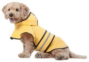 Ethical Coat Fashion Pet Rainy Days Slicker Yellow Raincoat