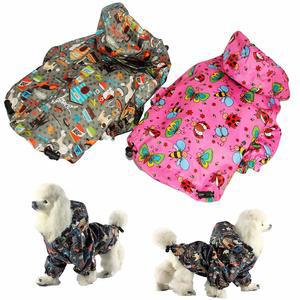 FunnyDogClothes For SMALL Pet Cat Dog RainCoat Hoodie