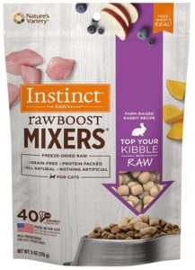 Instinct Freeze Dried Raw Boost Mixers