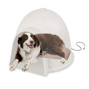 K&H Pet Products Lectro-Soft Igloo Style Heated Dog Pad