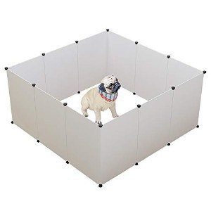 KOUSI Expandable Small Animal Playpen