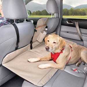 Kurgo Backseat Reversible Dog Bridge Car Extender