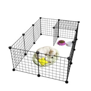LANGRIA 24-Piece Small Animal Cage
