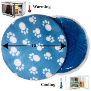 Pet Fit For Life Snuggle Soft Microwave Heating Gel Pad