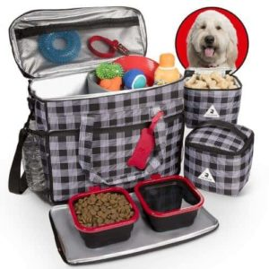 Premium Dog Travel Set