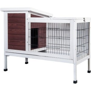 Purlove Pet Rabbit Hutch