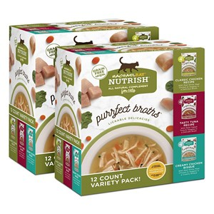 Rachael Ray Nutrish Purrfect Broths All Natural Complement for Cats