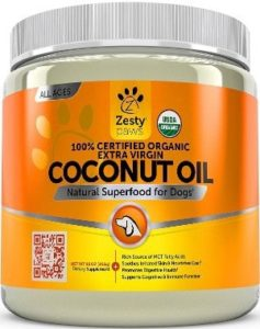 Coconut Oil for Dogs - Certified Organic & Extra Virgin Superfood Supplement