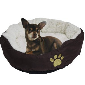 Evelots Soft Pet Bed for Cats & Dogs