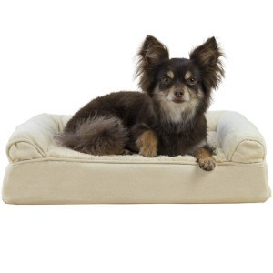 Furhaven Pet Orthopedic Ultra-Plush Sofa-Style Pet Bed for Dogs and Cats