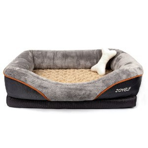 JOYELF Orthopedic Dog Bed Memory Foam Pet Bed