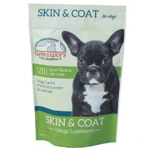 Skin and Coat Omega Supplement for Dogs