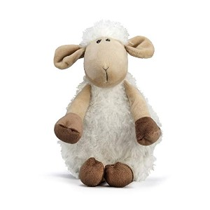 NANDOG My BFF Sheep Plush Dog Squeaky Toy