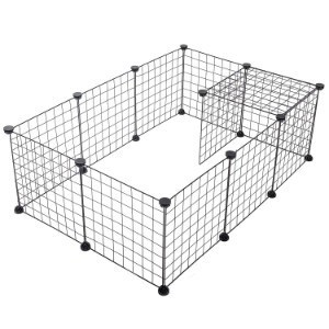 SUKI&SAMI Wire Grid Playpen