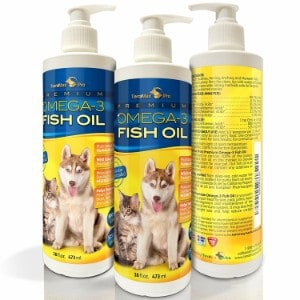 TerraMax Premium Liquid Omega-3 Fish Oil for Dogs and Cats
