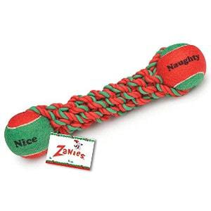 Zanies Naughty or Nice Tennis Tug