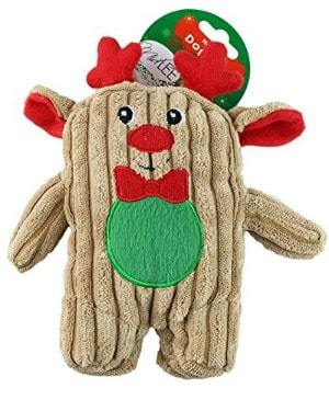 Midlee Christmas Corduroy Dog Toy