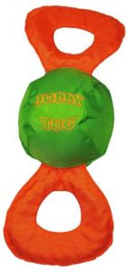 Jolly Pets Jolly Tug Tug/Squeak Toy