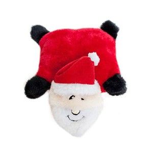ZippyPaws Holiday Squeakie Pad Santa