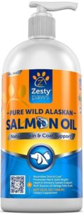 Zesty Paws Pure Wild Alaskan Salmon Oil for Dogs & Cats
