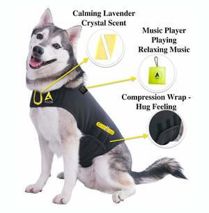 Agon CozyFur Patent Pending Canine Anti Anxiety Vest