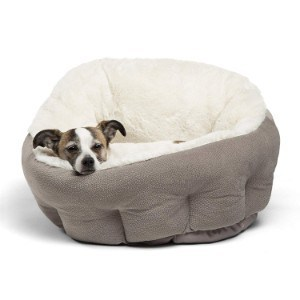 Best Friends by Sheri OrthoComfort Self-Warming Deep Dish Dog Bed