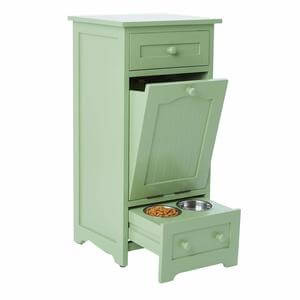 BrylaneHome Pet Food Storage Cabinet