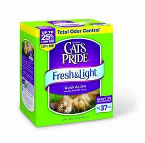 Cats Pride Fresh and Light Multi-Cat Premium Scoopable Litter