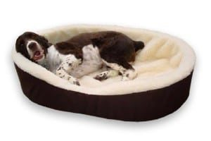 Dog Bed King USA Cuddler Nest Bed