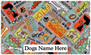 Drymate Personalized Placemats For Dogs