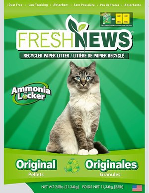 Fresh News Post Consumer Paper Pellet Cat Litter