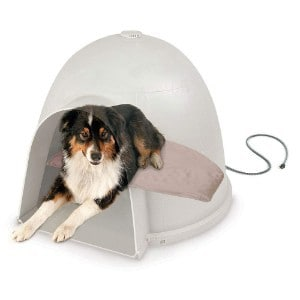 K&H Pet Products Igloo Heated Dog Bed
