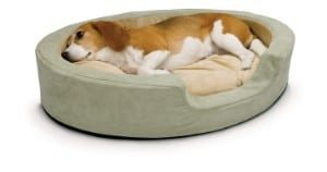 K&H Pets Thermo-Snuggly Sleeper Heated Dog Bed