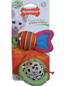 Nylabone Insert-A-Treat Crinkly Critters