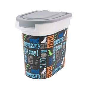 Paw Prints Pet Airtight Food Storage Container