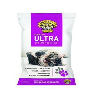 Precious Cat Dr Elseys Ultra Scented Scoopable Multi-Cat Cat Litter 20 lbs