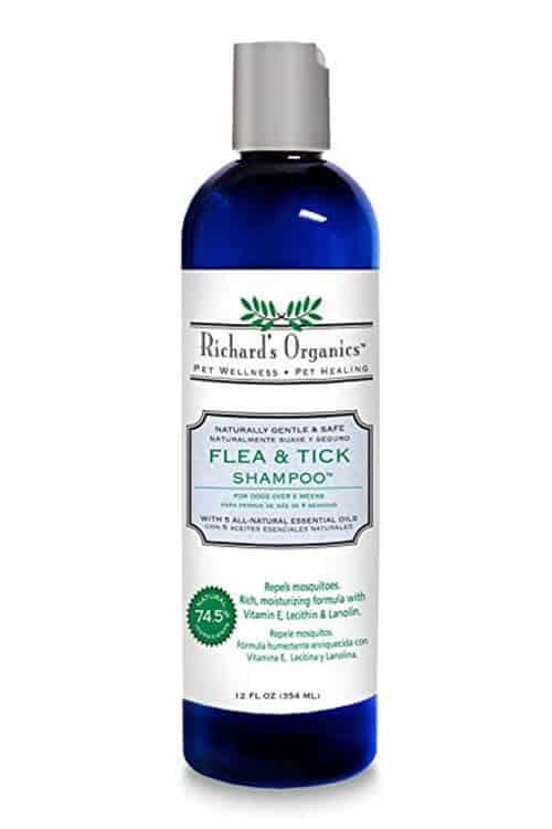 Richard's Organics Flea & Tick Shampoo