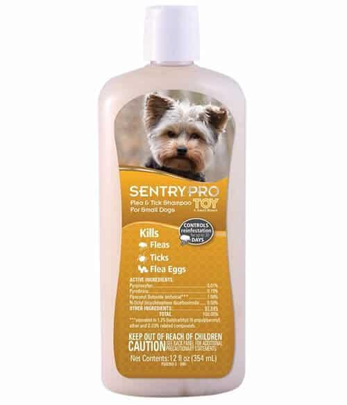 Sentry Pro Toy & Small Breed Flea & Tick Dog Shampoo