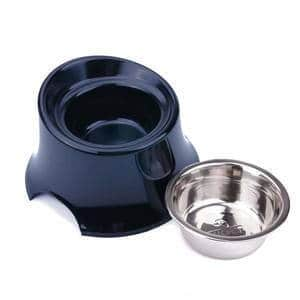 Super Design Elevated Dog Bowl Raised Dog Feeder for Food and Water