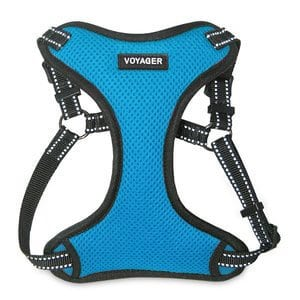 Voyager by Best Pet Supplies - Fully Adjustable Step-In Mesh Harness