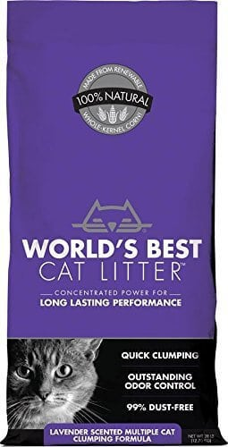 World'S Best Lavender Scented Multiple Cat