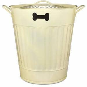 You&Me Pet Food Storage Bin in Cream