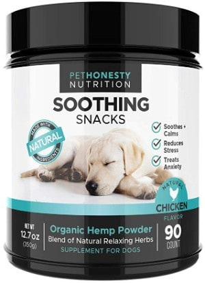 PetHonesty Calming Treats for Dogs